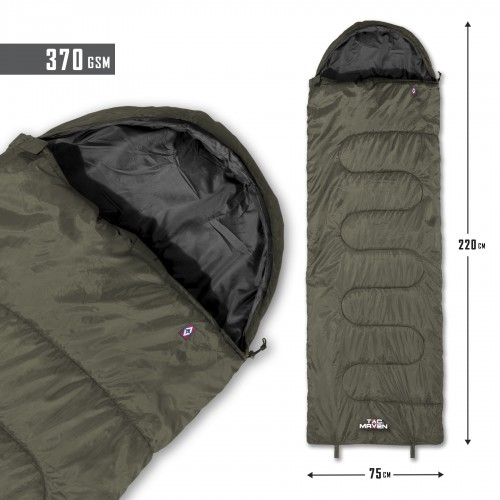 MAJOR SLEEPING BAG 370GR/m² D19002